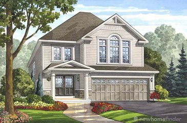 The Rockwood new home model plan at the Grand River Woods by Fernbrook Homes in Cambridge