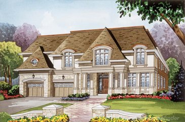 The Camp D'or new home model plan at the Royal Oakville Club by Fernbrook Homes in Oakville