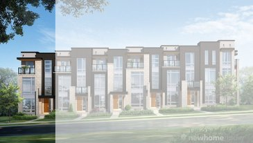 The Grosvenor new home model plan at the Coronation Towns by Fernbrook Homes in Vaughan