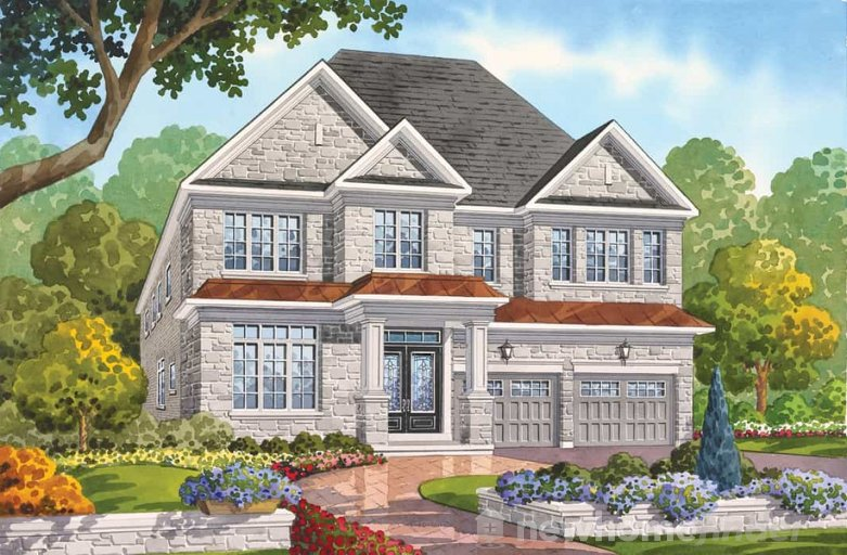 Adelson floor plan at Seven Oaks by Fernbrook Homes in Oakville, Ontario