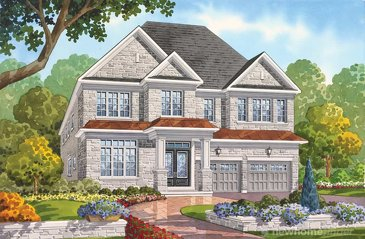 The Adelson new home model plan at the Seven Oaks by Fernbrook Homes in Oakville