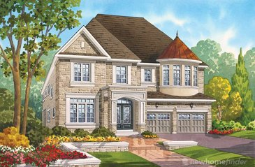 The Medici new home model plan at the Seven Oaks by Fernbrook Homes in Oakville