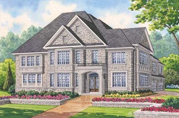 The Thompson new home model plan at the Seven Oaks by Fernbrook Homes in Oakville