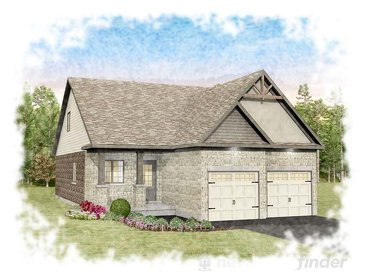 The Ivory new home model plan at the Heritage Lane by Granite Homes in Fergus