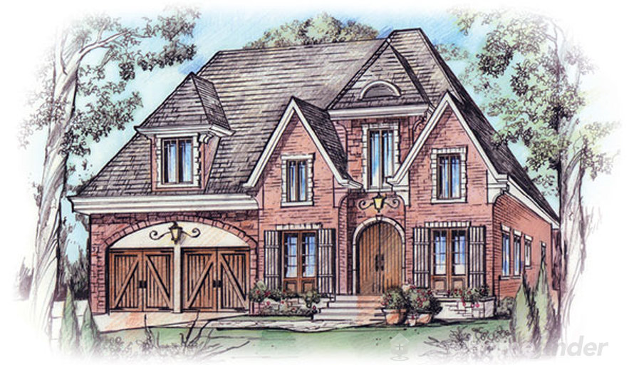 Ironwood model at silver in mississauga for Modern homes mississauga