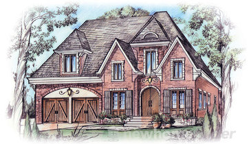 The Ironwood new home model plan at the Silver by Aberdeen Homes in Mississauga