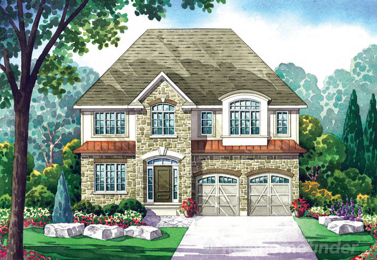 Madison floor plan at Carriage Crossing by Deutschmann Homes in Waterloo, Ontario