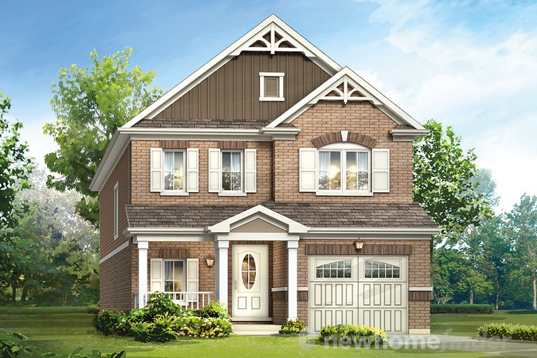 Angelica floor plan at Topper Woods by Mattamy Homes in Kitchener, Ontario