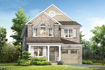 The Plume new home model plan at the River Mill by Mattamy Homes in Cambridge