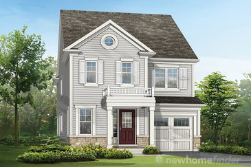 The Rosemary new home model plan at the River Mill by Mattamy Homes in Cambridge
