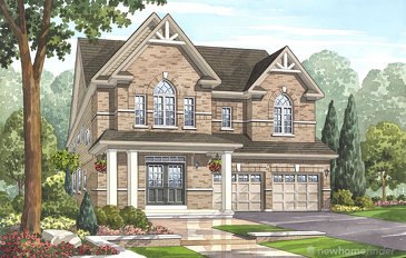 The Cambridge new home model plan at the Grand River Woods (Cr) by Crystal Homes in Cambridge