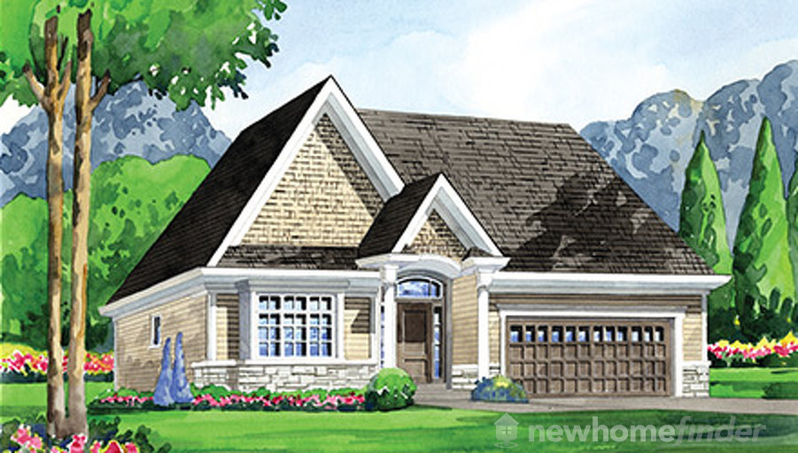 New Haven floor plan at Ridgeway by the Lake by Blythwood Homes in Crystal Beach, Ontario