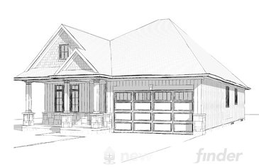 The Bancroft new home model plan at the Merritt Meadows by Rinaldi Homes in Thorold