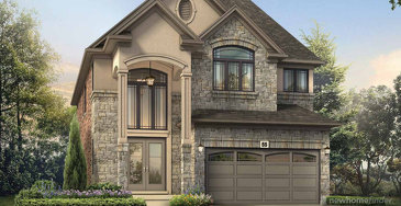 The Mulberry new home model plan at the Astoria Grand by Losani Homes in Ancaster