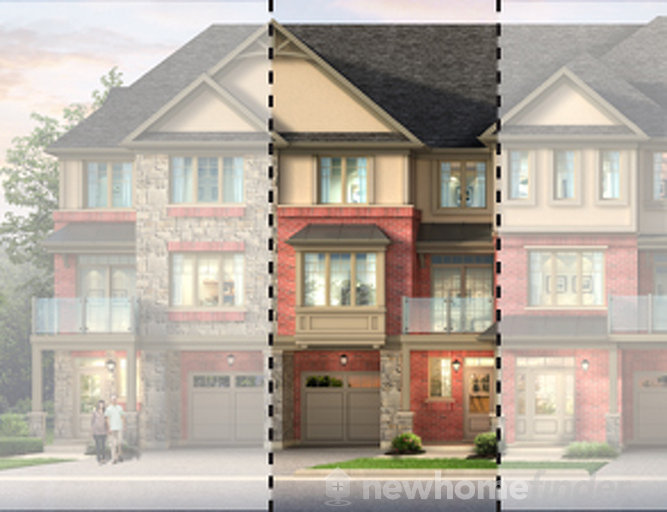 Tartan floor plan at Astoria Grand by Losani Homes in Ancaster, Ontario