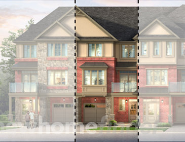 The Tartan new home model plan at the Astoria Grand by Losani Homes in Ancaster