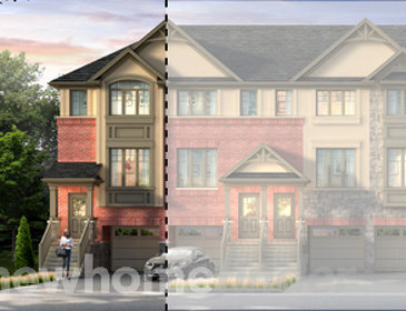 The Espirit new home model plan at the Astoria Grand by Losani Homes in Ancaster