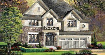 The Corsica new home model plan at the The Woodlands by Losani Homes in Ancaster