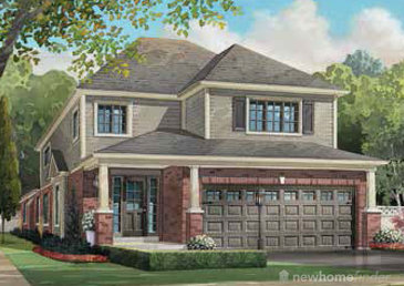 The Beechwood new home model plan at the Oakwood Estates by Altra Homes in St. Catharines
