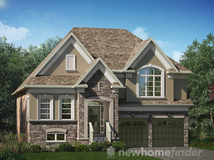 Lockwood floor plan at Glenway (Lk) by Lakeview Homes in Newmarket, Ontario