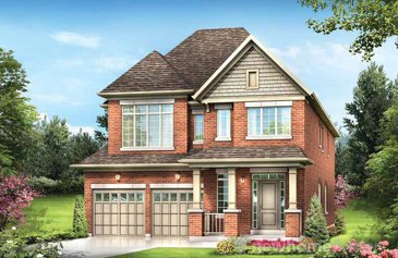 The Parsons new home model plan at the Cachet Orangeville by Cachet Estate Homes in Orangeville