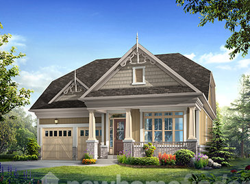 The McIntosh new home model plan at the Averton Square by Averton Homes in Niagara-on-the-Lake