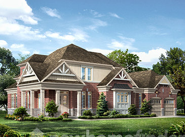 The Russet new home model plan at the Averton Square by Averton Homes in Niagara-on-the-Lake