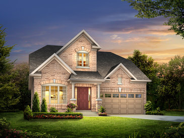 The Moonlight new home model plan at the Rosedale Village by Pemberton Group in Brampton