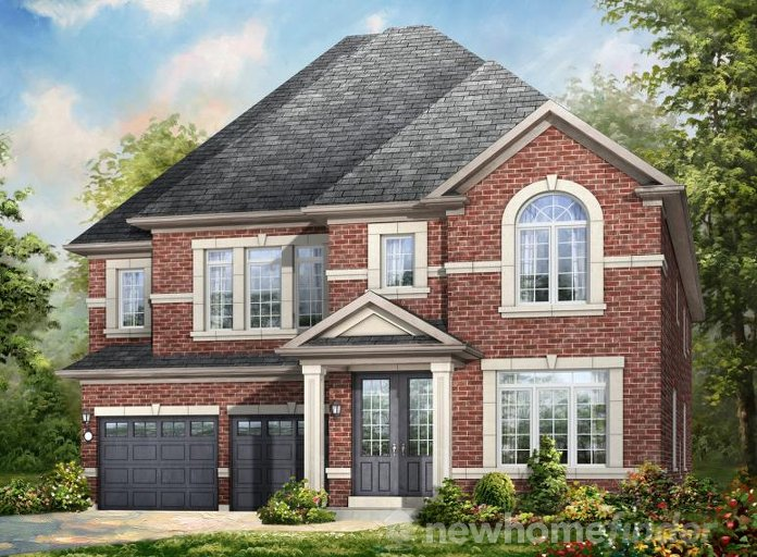 Valleycreek floor plan at Mount Pleasant (RH) by Rosehaven Homes in Brampton, Ontario