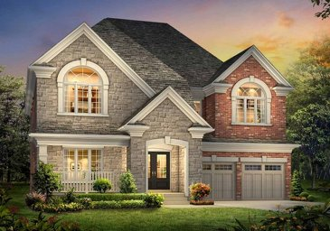 The Classic 5 new home model plan at the The Ravines of Credit Valley by Muirland in Brampton