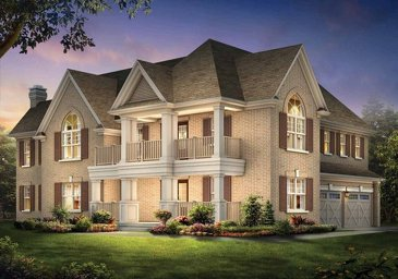 The Springbook 5 new home model plan at the The Ravines of Credit Valley by Muirland in Brampton