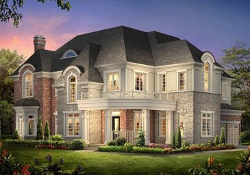 The Riverview 9s new home model plan at the The Ravines of Credit Valley by Muirland in Brampton
