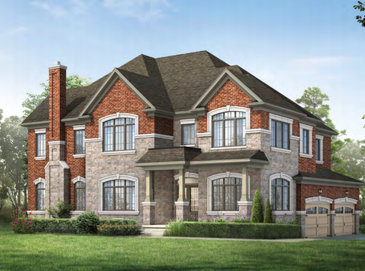The Tilley new home model plan at the Cleave View by Aspen Ridge Homes in Mississauga