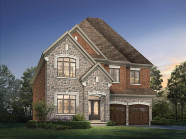 The Marina new home model plan at the Cleave View by Aspen Ridge Homes in Mississauga