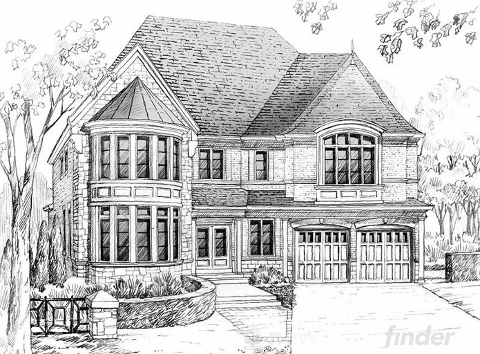 Millenium Star floor plan at King's Manor Estates by Bremont Homes in Brampton, Ontario