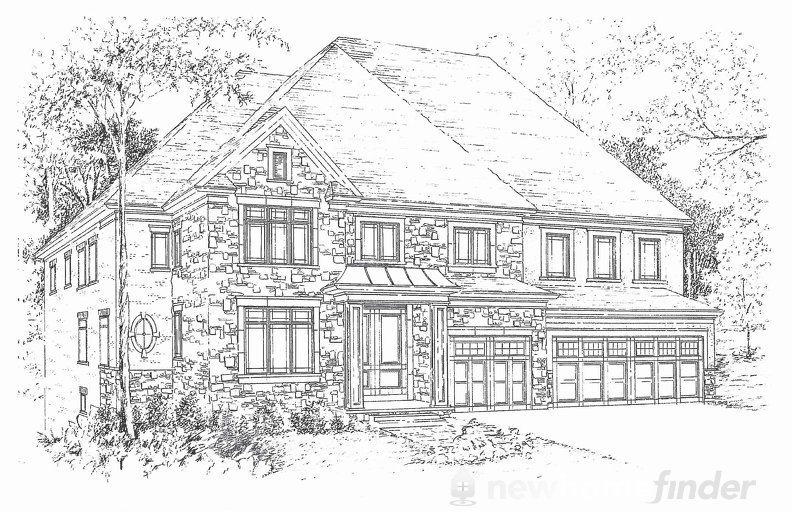 Rothschild floor plan at Vintages Select by DiBlasio Homes in Mississauga, Ontario