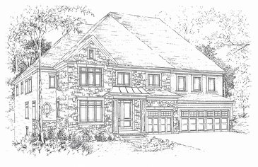 The Rothschild new home model plan at the Vintages Select by DiBlasio Homes in Mississauga