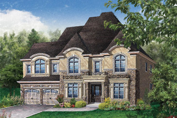 The Windsor new home model plan at the Vales of Humber (Mk) by Mosaik Homes in Brampton