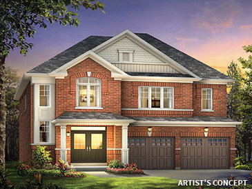 The Ivy new home model plan at the Impression in Kleinburg (PD) by Paradise Developments in Kleinburg