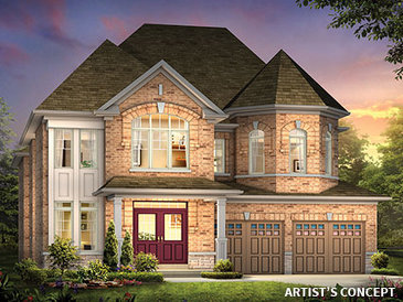 The Fairview new home model plan at the Impression in Kleinburg (PD) by Paradise Developments in Kleinburg