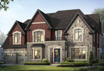 The Greenbriar new home model plan at the Vales of the Humber (Av) by Avalee in Brampton