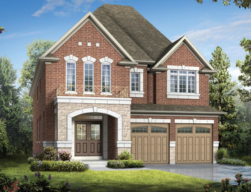 The Chelsea new home model plan at the Southfields by Coscorp in Caledon