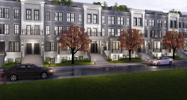 The Garden Flats new home model plan at the The Reserve by Queenscorp in Mineola