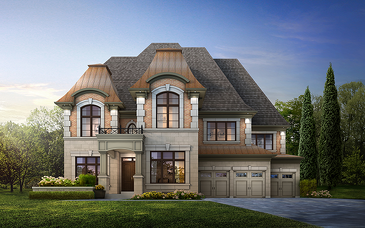 The Prosecco new home model plan at the The Enclave (CW) by CountryWide Homes in Vaughan