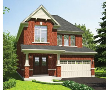 The Bellflower new home model plan at the Stowmarket Springs by DiGreen Homes in Caledon