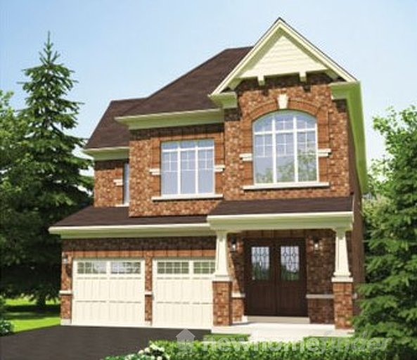 Lily floor plan at Stowmarket Springs by DiGreen Homes in Caledon, Ontario