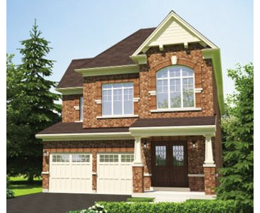 The Lily new home model plan at the Stowmarket Springs by DiGreen Homes in Caledon