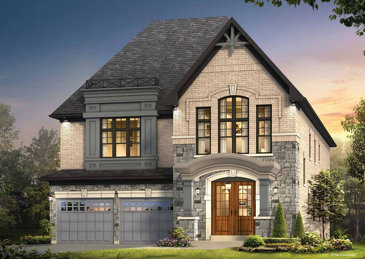 The Carlton II new home model plan at the Kleinburg Glen by Gold Park Homes in Kleinburg