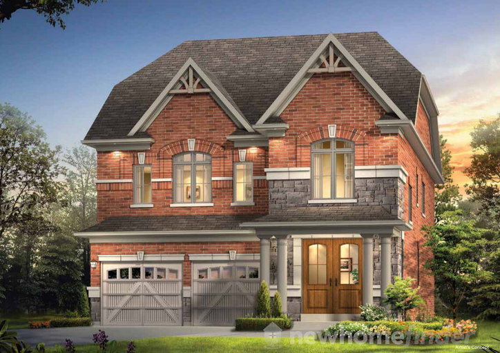 Hampton floor plan at Kleinburg Glen by Gold Park Homes in Kleinburg, Ontario