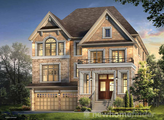 Brahms floor plan at Encore2 by Gold Park Homes in Brampton, Ontario